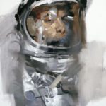 Astronaut Paintings by Gregory Manchess