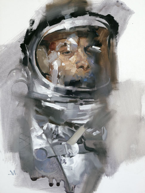 astronaut in space painting - photo #14