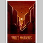 Mars Travel Posters