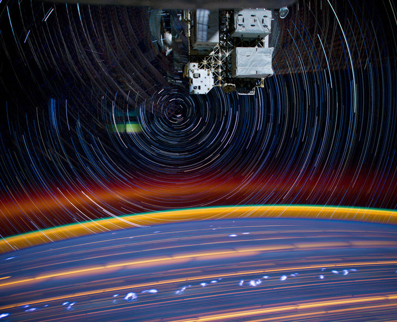 ISS Star Trails 1