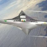 Ninja Star Supersonic Plane