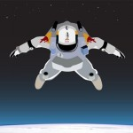 Skydive From Space – Desktop Wallpaper