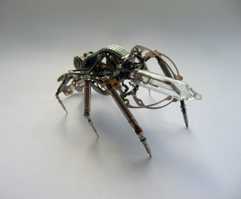 Part Of Art : Mechanical insects and arthropods robotspacebrain