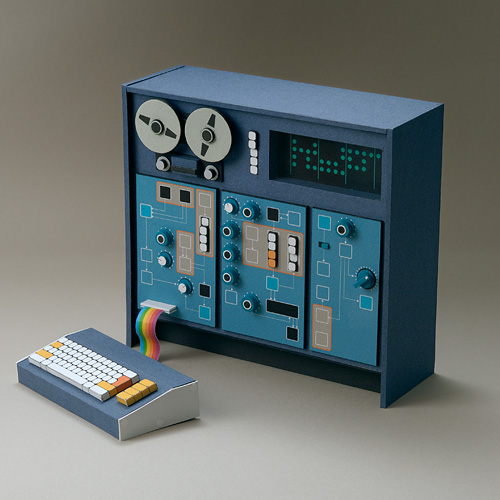 Miniature Synthesizer for Esquire Magazine