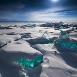 Turquoise Ice from Lake Baikal