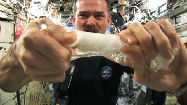 Wringing-out-Water-In-Space