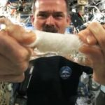 Wringing out Water (In Space)