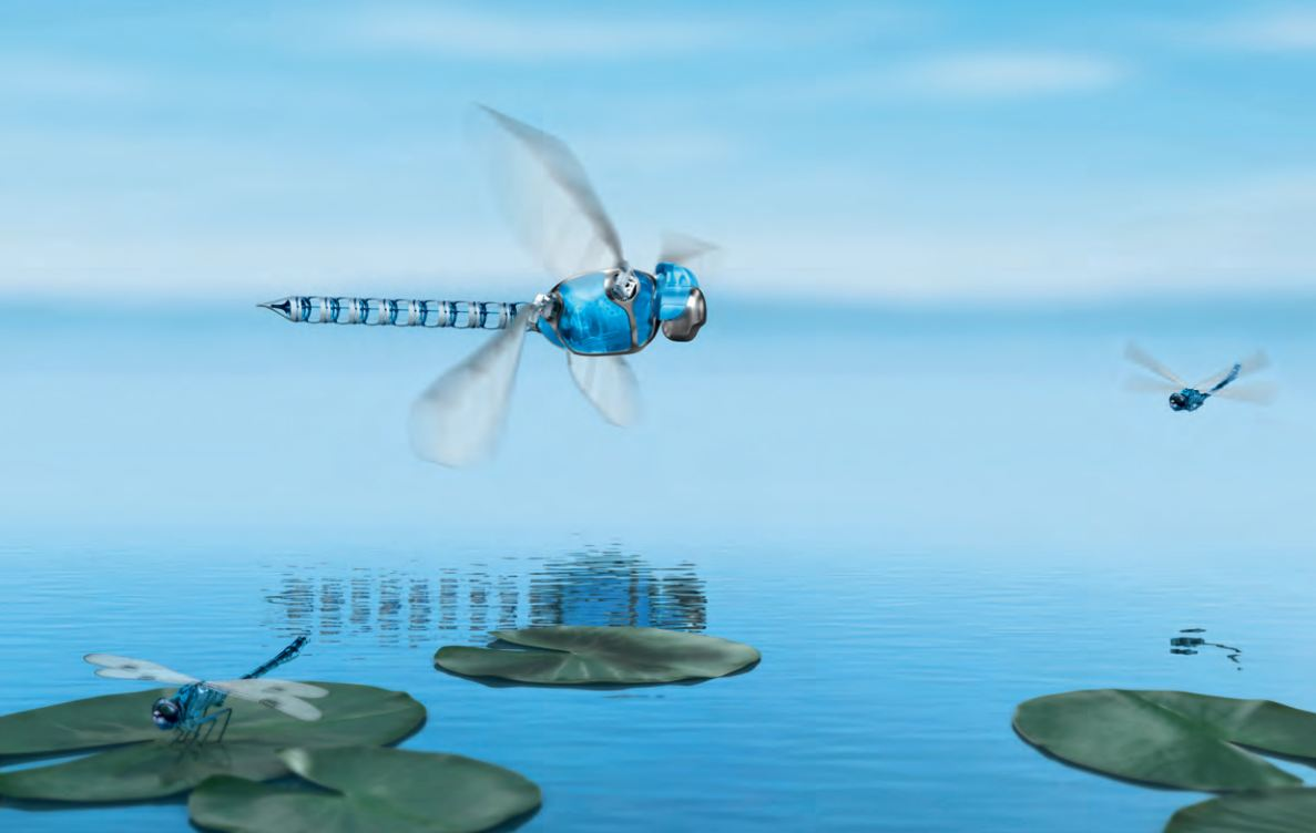 the festo robotic dragonfly robotspacebrain