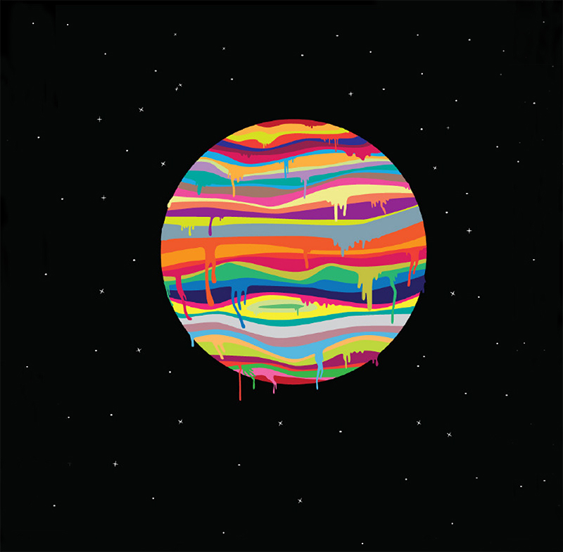 Planet Illustrations From Joe Van Wetering Robotspacebrain