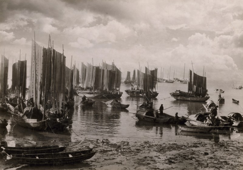 National Geographic's Vintage Photography Tumblr - Macao Harbor 1931