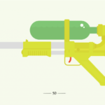 Super Soaker Illustrations from Joe Oliver