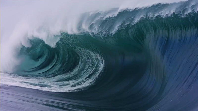 Teahupo'o Big Wave Surfing