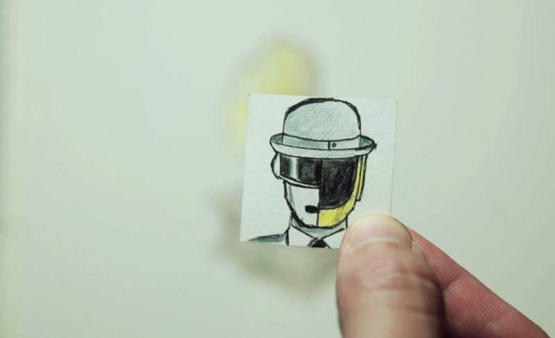 Daft Punk Stop Motion Animation