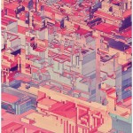 Pixel Cities from Atelier Olschinsky