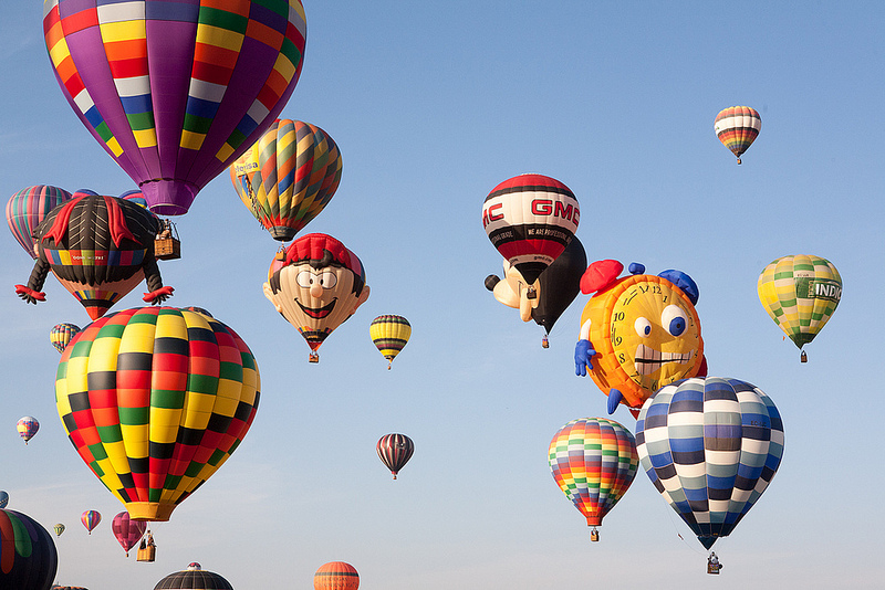 Hot Air Balloons Mexico