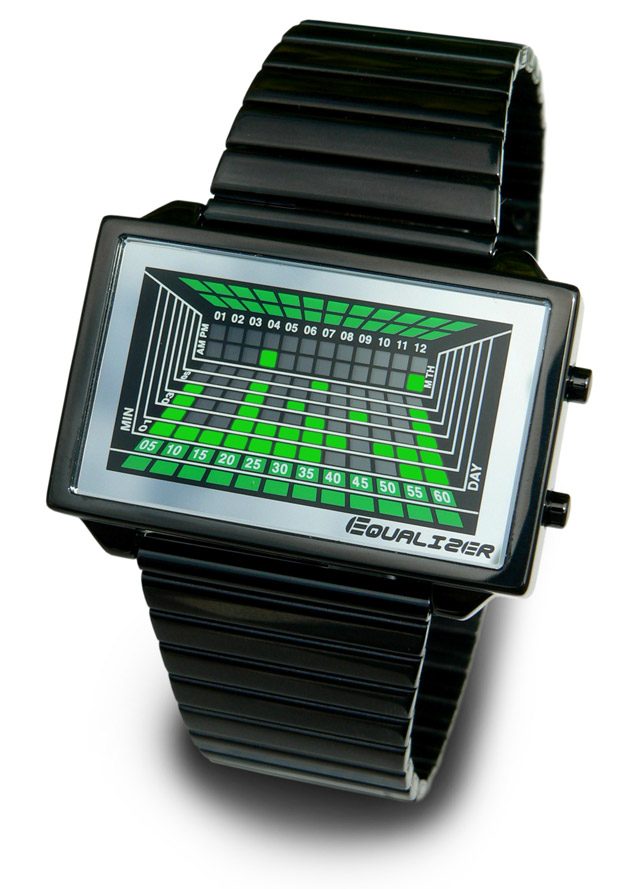 Equalizer High Freq.2 LED Watch