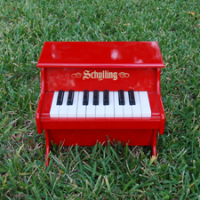 Red Mini Piano Schylling