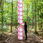 Geometric Tape Installations from Aakash Nihalani