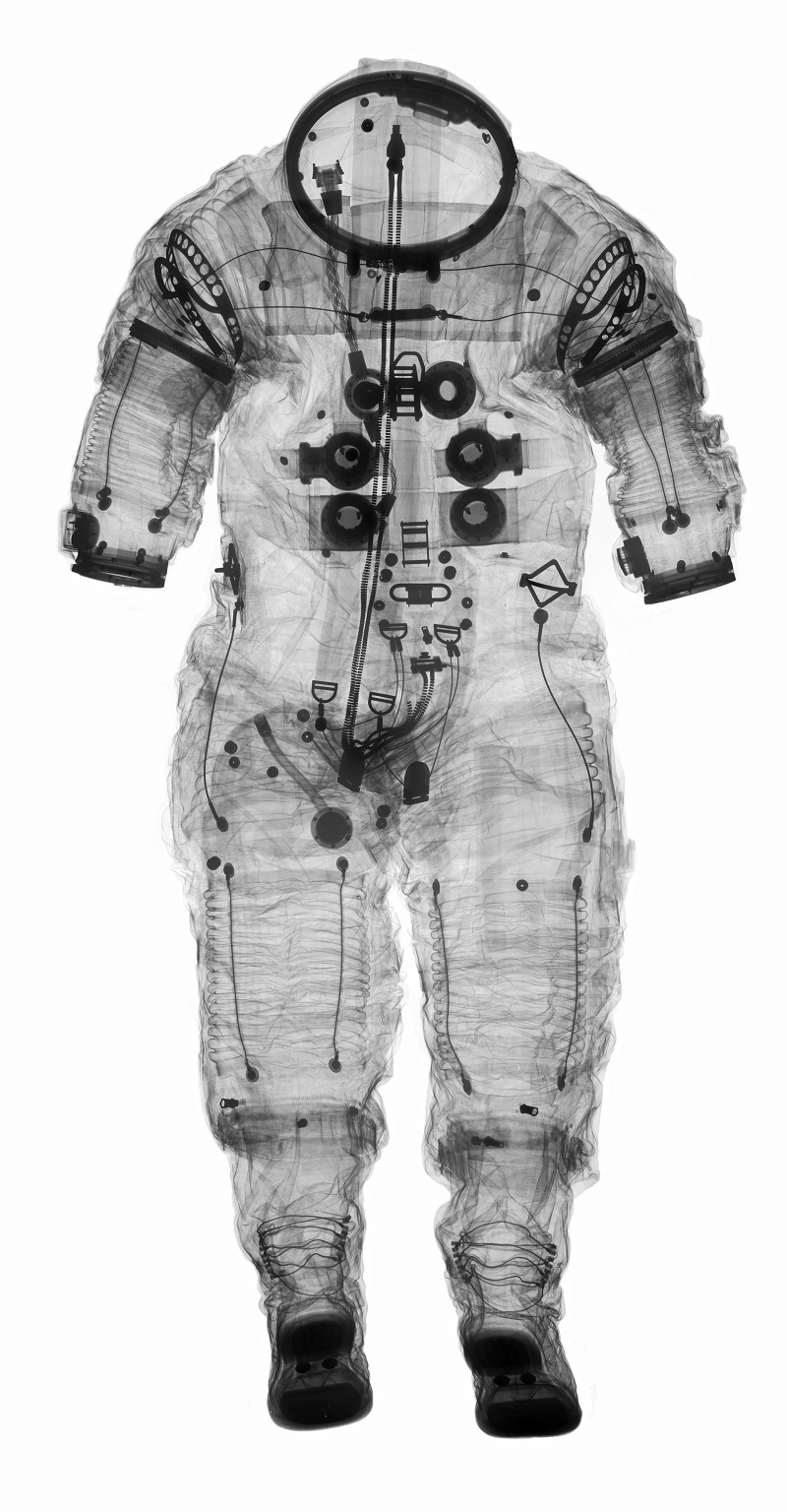X-Rays of Space Gear - Extra-Vehicular A-7; Shepard, Alan B., Jr.; Apollo 14 Flight