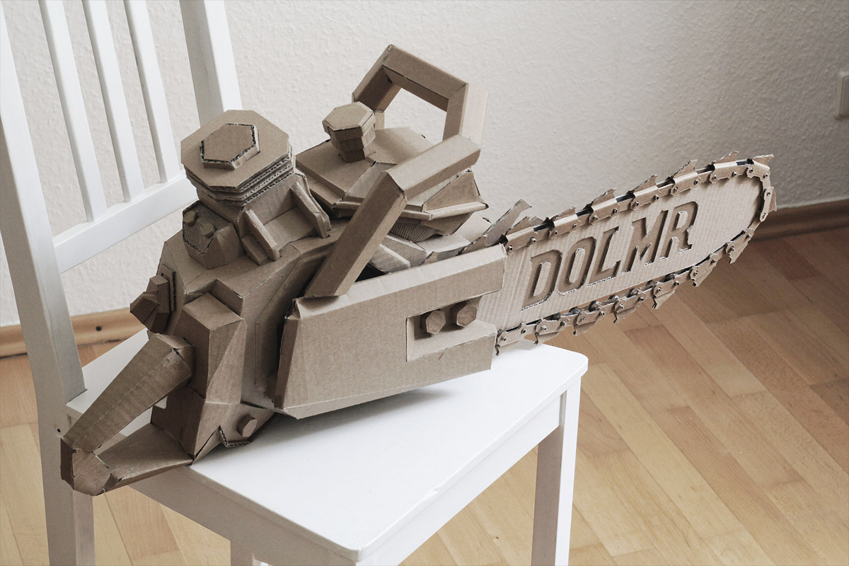 Paper Chainsaw