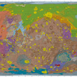 Map of Mars by the U.S. Geological Survey