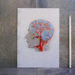 Hand Embroidered Anatomical Notebooks