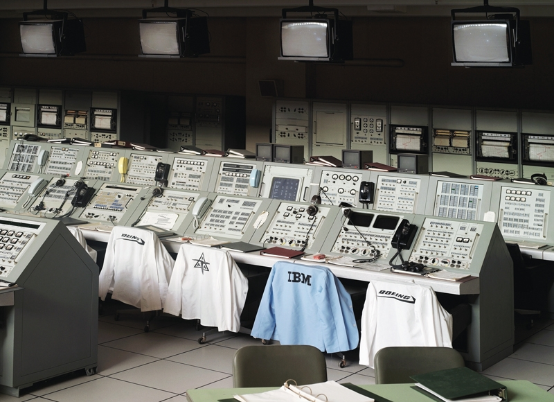 Apollo Control Room, John F. Kennedy Space Center [NASA], Florida, U.S.A., 2011.