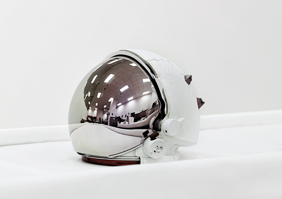 Space Helmet, Extravehicular Visor Assembly, John F. Kennedy Space Center [NASA], Florida, U.S.A., 2011