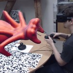 Virtual Reality Sculpting Using the Oculus Rift