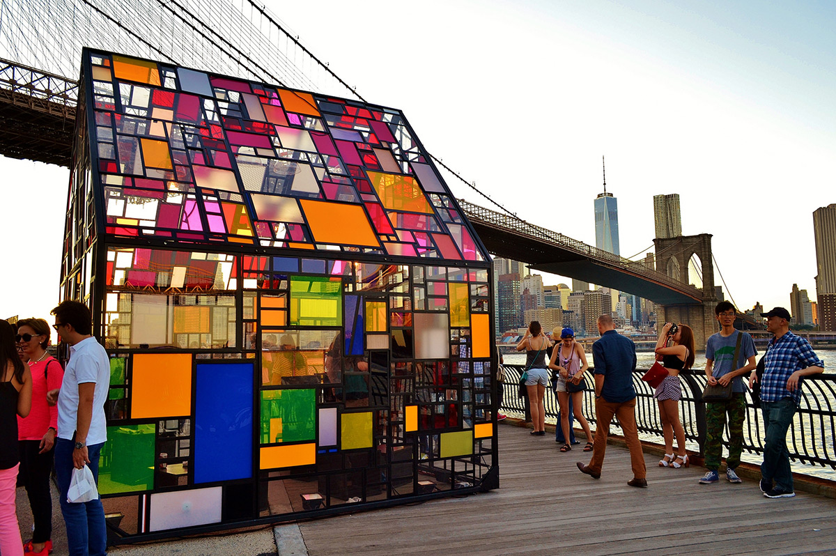 Stained Glass House at the Brooklyn Bridge 4