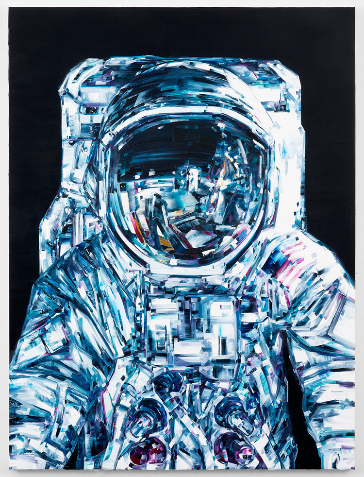 Michael Kagen Space Paintings 1