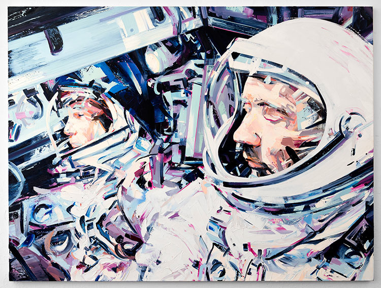 Michael Kagen Space Paintings 3