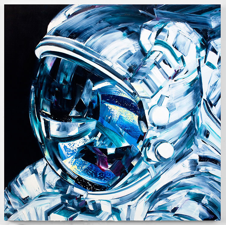 Michael Kagen Space Paintings 5
