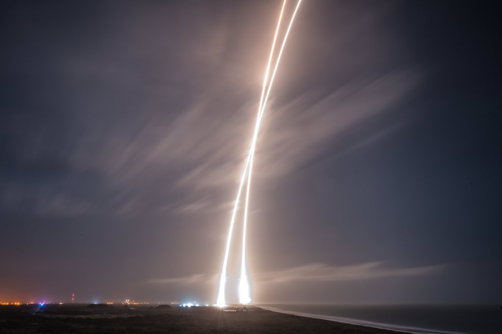 SpaceX Lands the Falcon 9